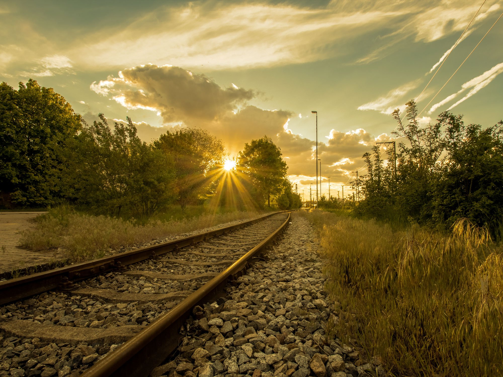 Tracks to the Sun