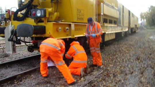 Network Rail Stone-Blower